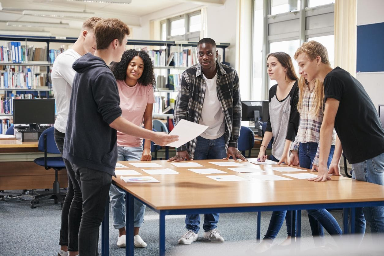 Near Peer Relationships Help Young People Develop Social Capital